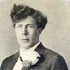 John Aho at the time of his wedding, ca 1915.
