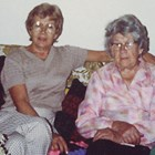 Ellen Aho McGettigan, right, and daughter Helen Aho Manthey, ca. 1984.
