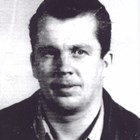Toivo Aho in his pilot's license photograph, 1945.