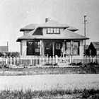 The original Allen  home at 4th Avenue and A Street, Anchorage,  Jerry T. Allen purchased this home in 1924 and he and his family resided there until 1944.