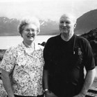 Carl and Eloise Andresen, Seward Highway, 1998.