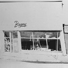 The Bagoy flower shop at 4th Avenue and B Street, following the 1964 Alaska earthquake.