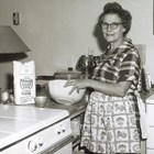 Mattie Bailey, the winner of the Alaska State Pillsbury Bake-off, 1961.