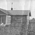The Balhiser's first Anchorage home, built by Charles on Eighth Avenue and F Street in 1915.