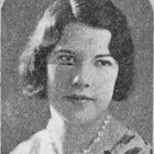 Margery Balhiser (portrait).  The Anchor (Anchorage High School yearbook), graduating class of 1933.