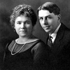 Lillie Burbank Berry (1886-1973) and Frank O. Berry (1888-1962).