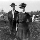 Frank and Lillie Berry, 1918.