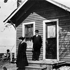 Frank and Lillie Berry at 737 E Street, Anchorage, 1920.