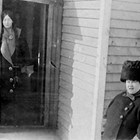 Catherine and Anna Ashton in Anchorage, 1916.