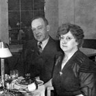 "Edward (""Ed"") Bittner with his wife, Catherine, 1940."