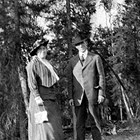 Martha Glascock Courtnay (1880-1943)  with Robert M. Courtnay, Sr. (1877-1938).