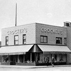 The Crocker department store, 4th Avenue and G Street, Anchorage, 1942.