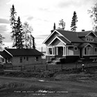 Judge Leopold David's residence on 2nd Avenue, Anchorage, on September 22, 1918.  The house still stands and is on the National Register of Historic Places.