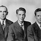 "Edward ""Ed"" Dodd with sons George and Robert."