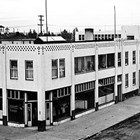 First National Bank of Anchorage, corner of 4th Avenue and G Street, Anchorage,  ca. 1939.