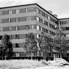 The Knik Arms Apartments, which in 1951 replaced the original Gelles home at 602 L Street, Anchorage.