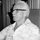 Emil Harlacher, age 90, in 1985.