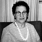 Margaret Elliot Harlacher, age seventy-nine, in 1982.