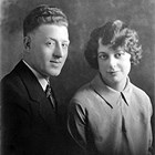 Harry J. Hill (1905-1973) and  Elsie Edmiston Hill (1907-2005).