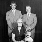 Top to bottom: Donald Hill, Harry Hill, Sylvia Ringstad (Harry's mother), and her granddaughter.