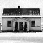 The Leckvold home at 627 3rd Avenue, Anchorage, 1938.