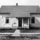 The Longacres' first home in Anchorage, Alaskan Engineering Commission Cottage No. 25, on Third Avenue, Anchorage.