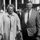 Sophia and Carl Lottsfeldt in 1959, while on a trip they had won to Europe.