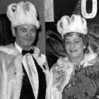 Carl and Sophia Lottsfeldt, King and Queen Regents, Pioneers of Alaska, 1968 Anchorage Fur Rendezvous.