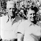 Carl and Lucille Martin, ca. 1945.