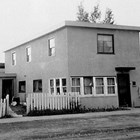 The Meier home at 812 F Street, Anchorage, ca. 1955.