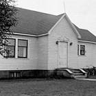 The Nelsons' downtown Anchorage home, 7th Avenue and E Street, 1954.