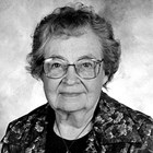 Ruby Olson Mathews (1913-2008).