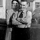 Muriel and Emil Pfeil at home, 618 I Street, Anchorage, 1933.