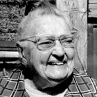 Muriel Anderson Pfeil at age 91.