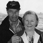 "Earl Plumb and his wife, Frieda ""Freddy"" Plumb."