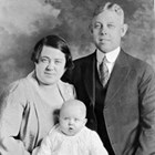 Bessie Griffin Quinton (1894-1975) and Charles E. Quinton (1885-1952).  Child not identified.