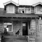 The Rager home at 126 F Street, Anchorage, 1923.