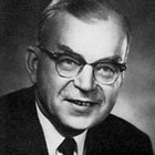 Official photograph of Elmer E. Rasmuson used in advertising for his 1968 U.S. Senate campaign.