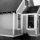 The Seaburg family home, remodeled, at 4th Avenue and Eagle Street, Anchorage, 1949.