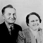 "Jay R. ""J.R."" and Agnes Sherwood, ca. 1950."