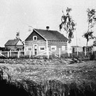 The Staser's first home from 1919 to 1923, at 7th Avenue and D Street, Anchorage.