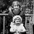 Bertha Hubbard Stipp with daughter Wanda, ca. 1923.