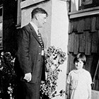 Logan Stipp with daughter Wanda, 1926.