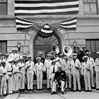 The Anchorage Band in front of City Hall, ca. 1938.