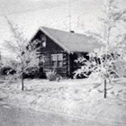 The Truesdell family home, Anchorage, 1935.