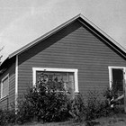 The Tryck family home, Wasilla, 1926.