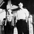 Charles Wahl and daughter Irma.