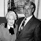 "Violet ""Mae"" Wennerstrom at age 83, with son Justin."