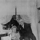 Wesley Earl Dunkle and his second wife, Billie, late in his life.