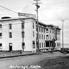 The Anchorage Hotel, owned by Frank's parents, Frank Ivan Reed and Pauline Reed, was one of the largest and best known hotels in Anchorage.